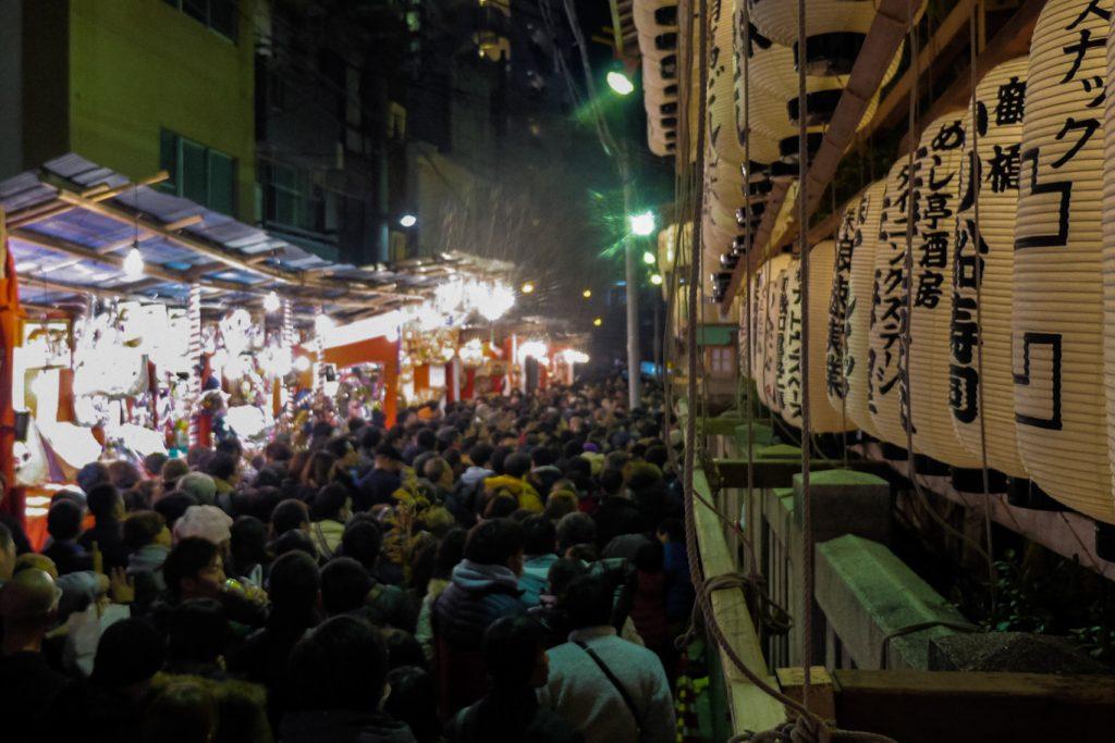 Ebisu Festival Osaka crowd